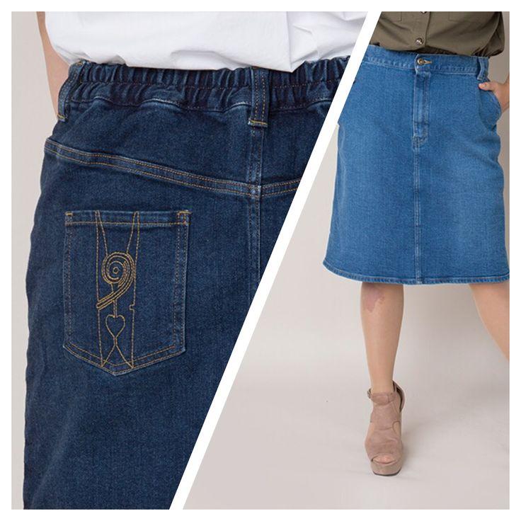 ストレッチデニムのタイトスカートです。 日本製12ozストレッチレギュラーデニムを使用。 スカート着用時に起こりやすいたくし上げがおこりにくくなっています。 ウエスト後ろをゴム仕様にし、素材にキックバックもありますので、見た目以上にラクな履き心地です。 ワンポイントで、後ろ左ポケットにVARALモチーフの洗濯バサミをステッチで表現しています。