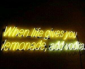 vintage #hipster #grunge #alternative #photography #aesthetic #quotes #text #light #led light #yellow #when life gives you lemonade #lemonade #life #add vodka #vodka #Moda #Kombinler #Kombin_Önerileri #Sokak_stili #fashion #Güzellik #ünlüler #ünlü_Modası #Cilt_Bakımı #Saç_Modelleri #Abiyeler #Abiye_modelleri #Magazin #Tarz #Kuaza