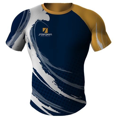 Scorpion Sports are UK suppliers of bespoke fully sublimated Rugby Shirts for junior and senior Rugby clubs