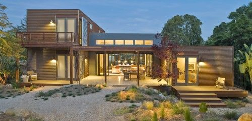 Building a michelle kaufmann home in marin county marin for Prefab glass house prices
