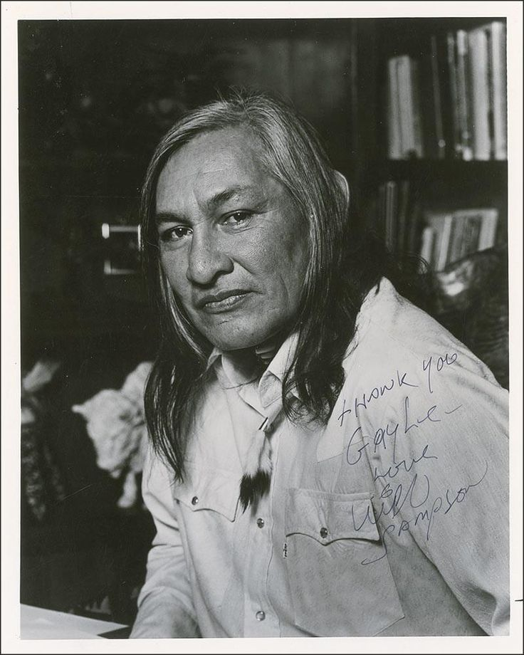 Will Sampson (1933-1987) was an American film and television actor and artist.  He was a Native American Muscogee.  One Flew Over the Cukoo's Nest