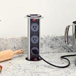 Node Electrical Outlet Eliminates the Power Strip | Gadget Review