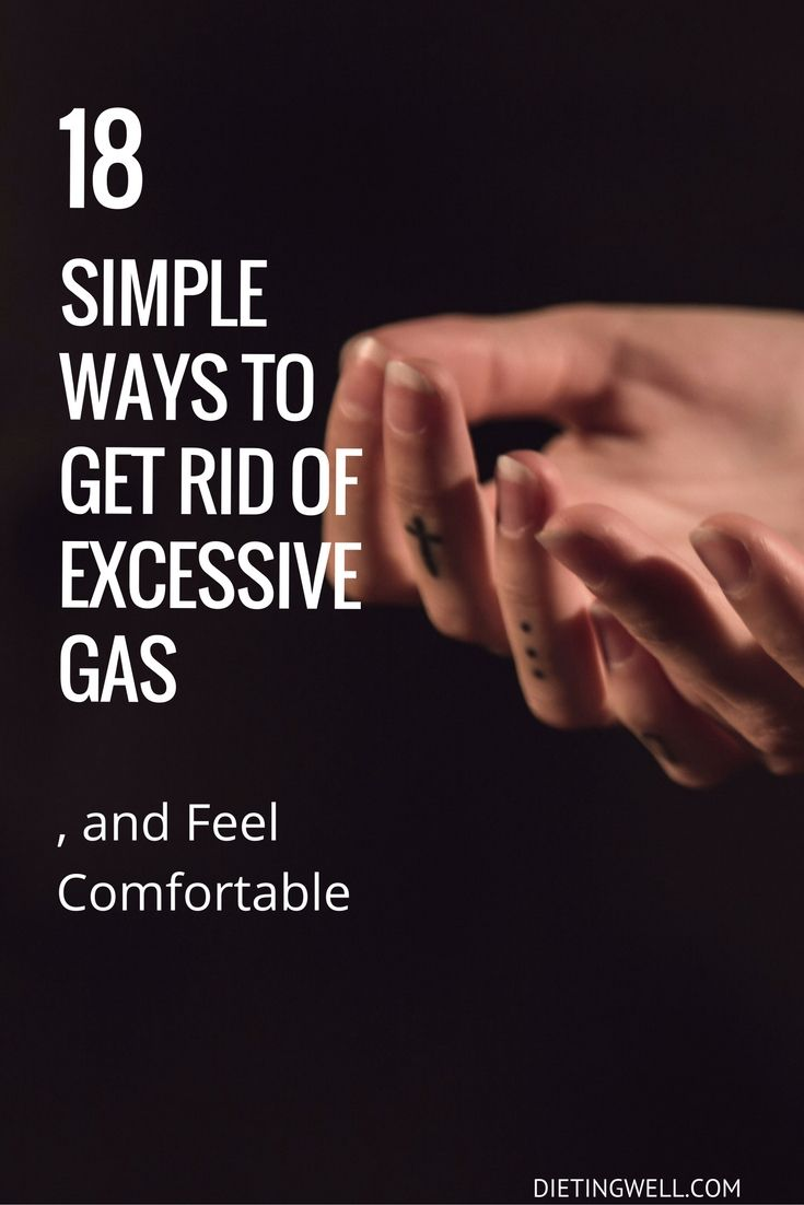 Do you suffer from excessive gas and bloating? Here are 18 easy ways to get rid of excessive gas, and feel comfortable. Visit to Learn More. | https://dietingwell.com/18-ways-get-to-get-rid-of-excessive-gas/