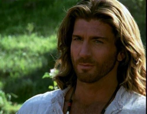 Sully aka Joe Lando from Dr. Quinn - pretty sure he was my first fictional crush