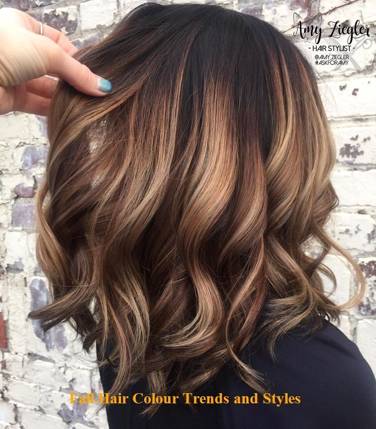 Fall Hair Colour Trends And Styles Hairforwinter Trendyhairs Caramelbalayage Fall Hair Colour Trends And Style Brown Hair Balayage Hair Styles Balayage Hair