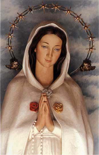 """Maria Rosa Mistica"""" que bellisima eres madre""""(':"""