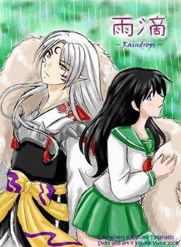 Raindrops 01 - Cover by YoukaiYume   kagome and sesshomaru