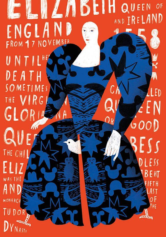 The Virgin Queen on Behance