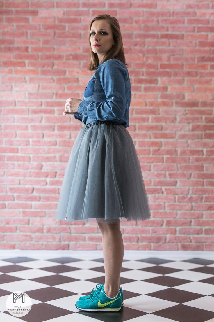 Swan skirt #swan #skirt #tulle #gdyniarocks #gdynia #grey