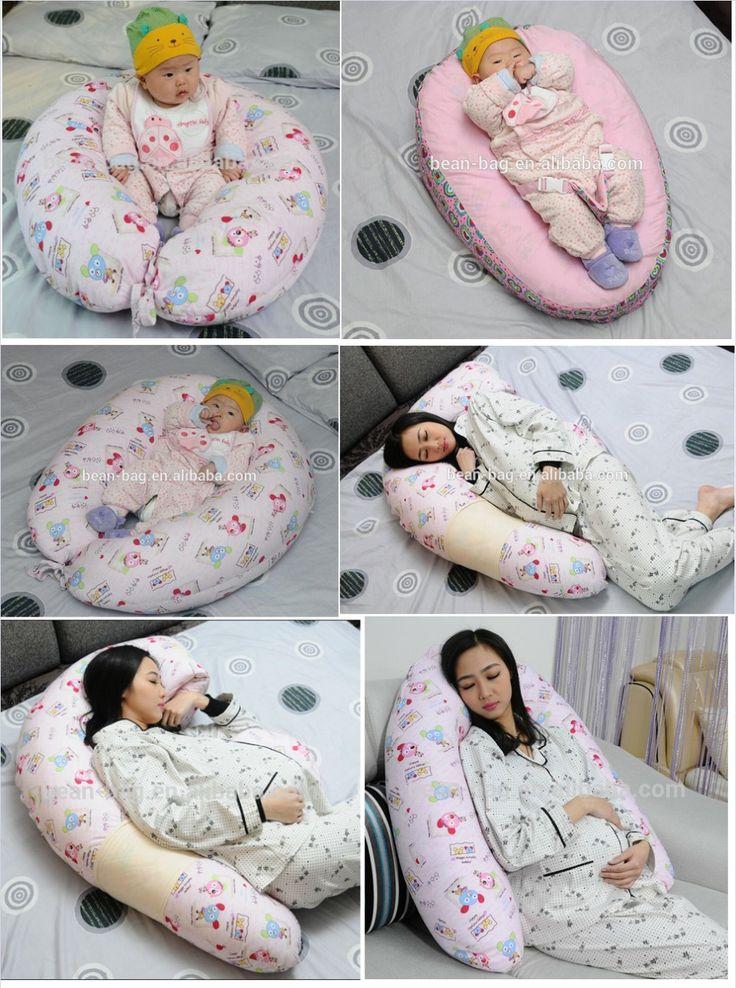 5 in 1 Posizionamento Cuscino Sacchetto di Fagioli Lettino per bambini, Bambino O Bambino Cuscino Allattamento, Gravidanza Pillow
