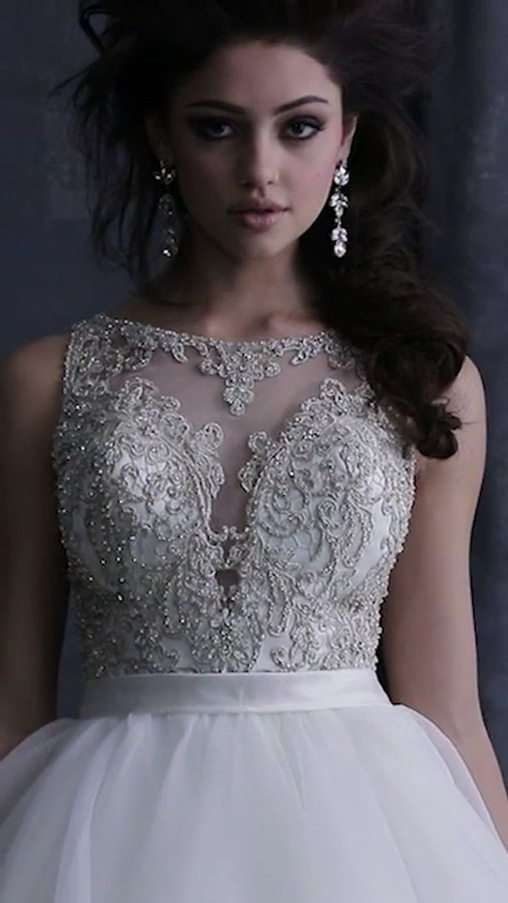 Nice Awesome ALLURE COUTURE WEDDING GOWN BRIDAL BRIDE DRESS CRYSTALS BALLGOWN NEW IVORY SZ 10 2018