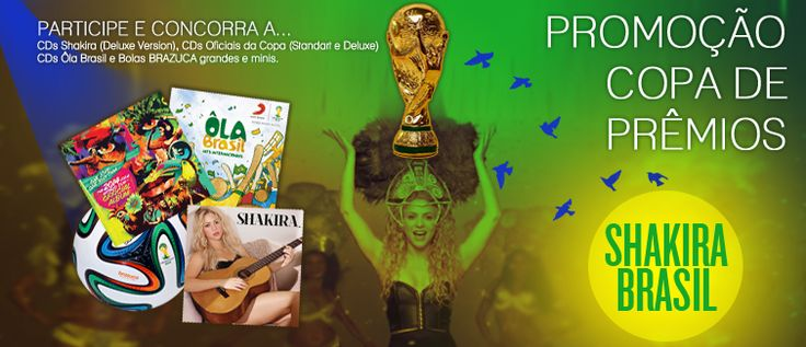 Resultado: Promoção Copa de Prêmios Shakira Brasil