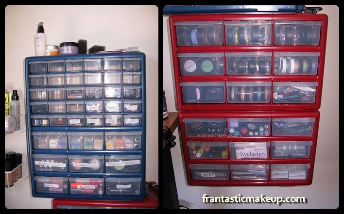 Best 25 Cosmetic Organization Ideas On Pinterest