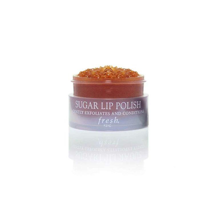Ce gommage à base de sucre roux exfolie les lèvres et les hydrate pendant six heures.POURQUOI ON L'A... - Glamour