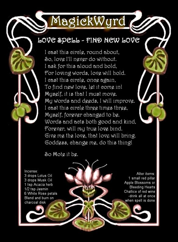 Love Spell_Find New Love