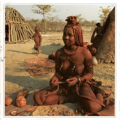 NAMIBIA - A Himba woman
