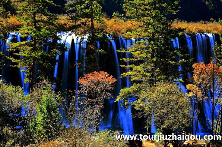 Beautiful Nuorilang Waterfalls