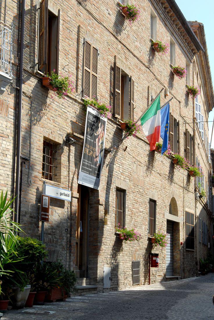 Palazzo municipale #marcafermana #massafermana #fermo #marche