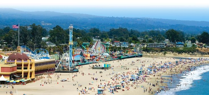Santa Cruz Beach Boardwalk. There are quite a few rides for little ones that my toddler would enjoy!