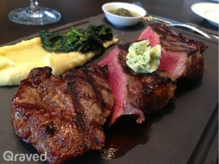 Wagyu Sirloin Steak at Auroz