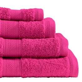 Linens Limited Value Range Ultimate Cotton Bath Sheet, Hot Pink