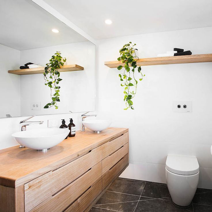 25+ Best Ideas about Timber Vanity on Pinterest | Natural minimalist bathrooms, Bathroom ...