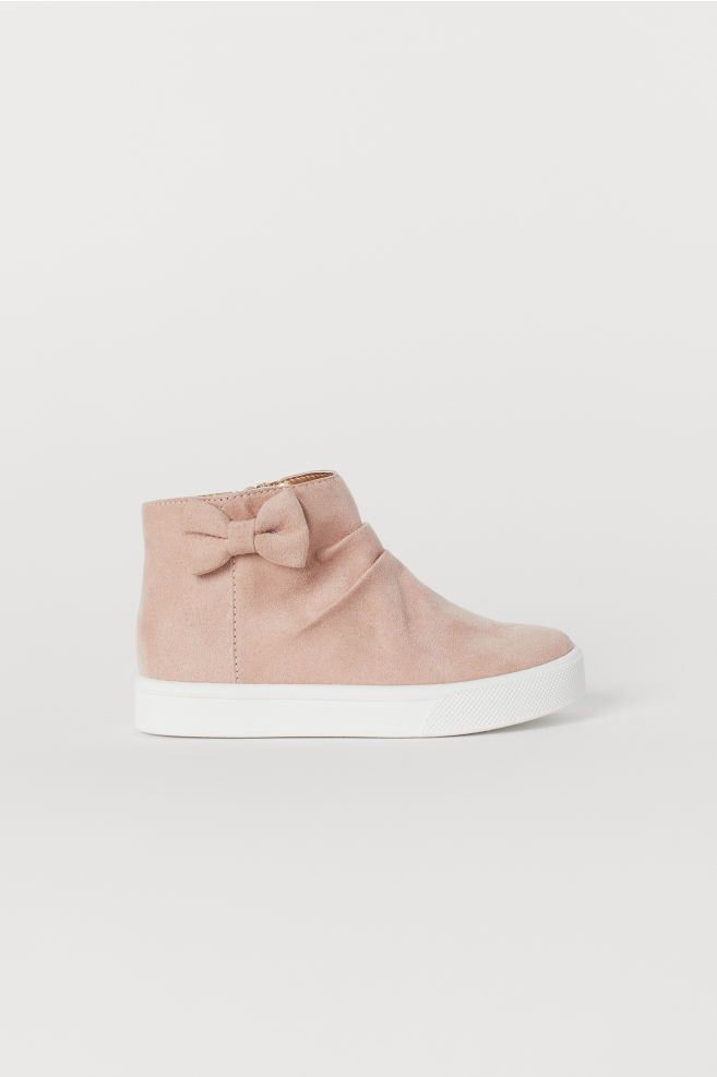 2003448219aa9 Ankle Boots with Bow | H&M - Girl | Ankle boots, Adidas sneakers, Boots