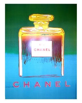 """Ross Art """"Chanel Green"""" by Warhol"""