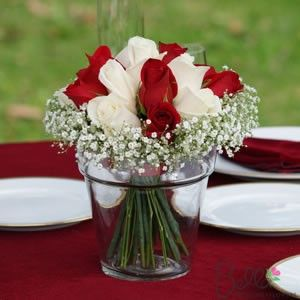 flowers, maybe use a container similar to this one for head table to hold corsages.