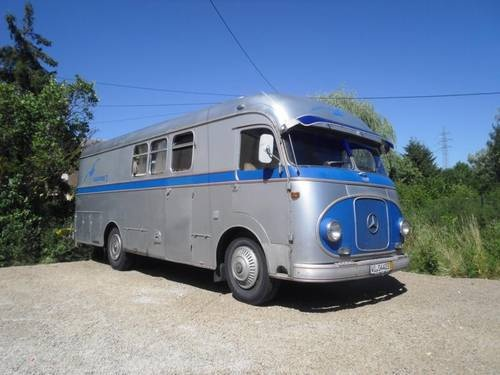 1959 mercedes benz k bohrer setra camper van camper for Mercedes benz camper for sale