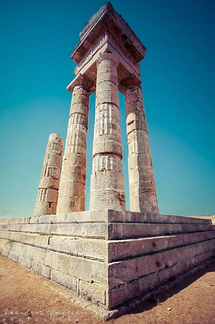 Acropolis of Rhodes | PHOTOinPHOTO
