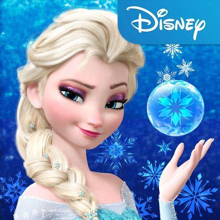 "The Disney Freak's Blog: Disney's ""Frozen"" Free Fall: App Review"