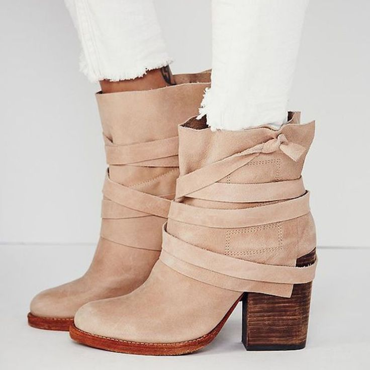 Shoespie Light Brown Straped Riding Boots