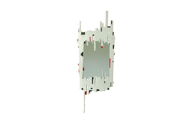 Modern colour - Silver, Black and Reds..!  Marvellous Mirrors !