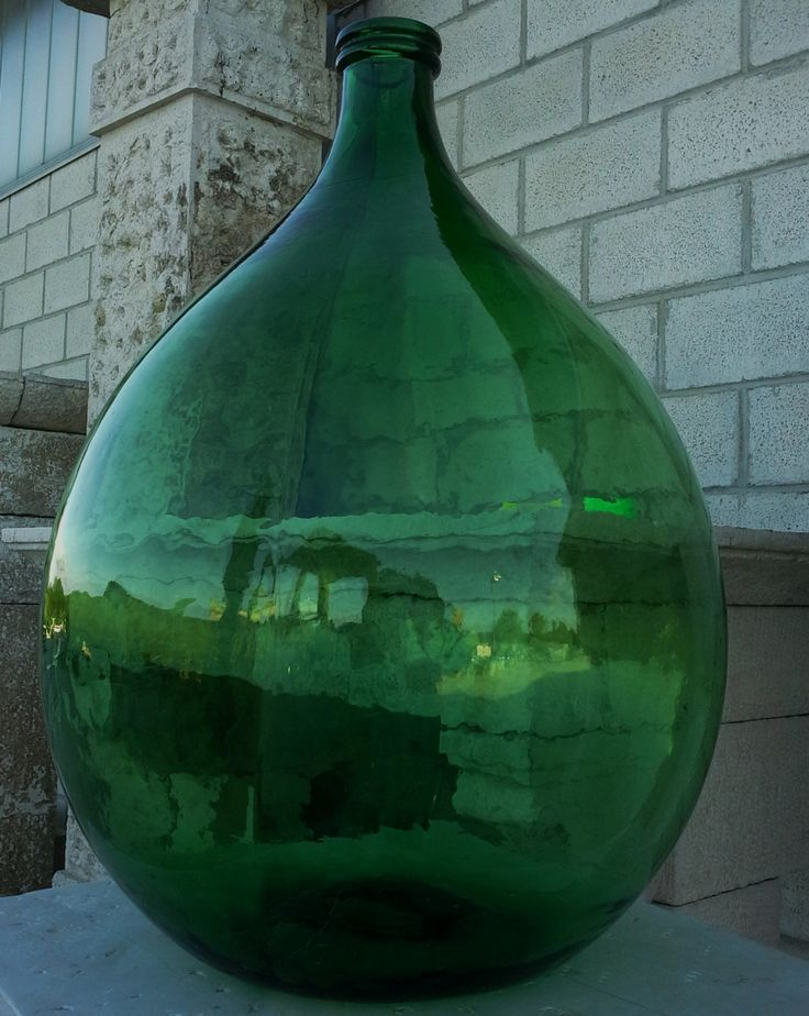 Antique-Italian-blown-glass-flagon-big-bottle-old-bottle-antique-demijohn di ItalianHistory su Etsy