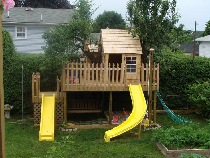 57 best Play forts images on Pinterest   Play fort ...