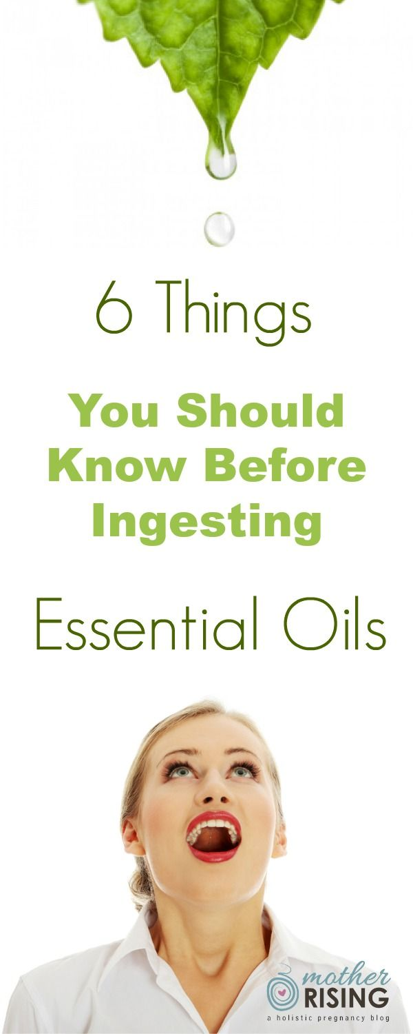Thinking of drinking lemon oil with your water? Here are 6 things to consider before ingesting essential oils.