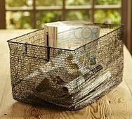 wire baskets for storage