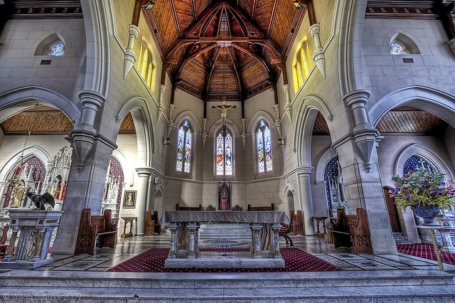 St. Michaels Cathedral, Wagga Wagga, New South Wales. I grew up in the suburbs and our churches look so plain in comparison. What an experience it must be to worship in a cathedral. One day I shall visit one.