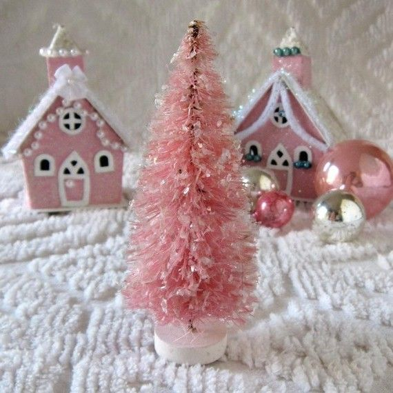 Pink christmas trees canada