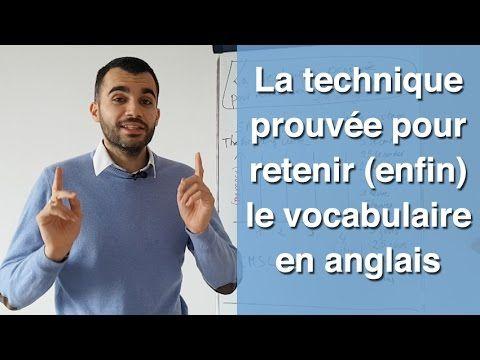 LA technique éprouvée pour retenir (enfin) le vocabulaire en anglais à jamais - YouTube