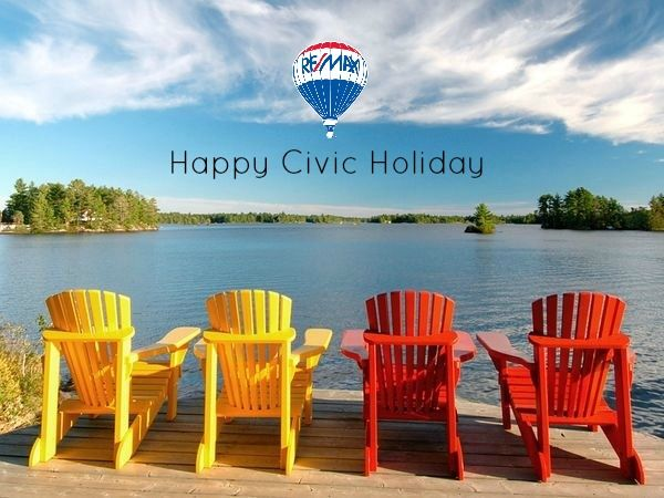 Happy Civic Holiday from Team Berkhout Bosse!