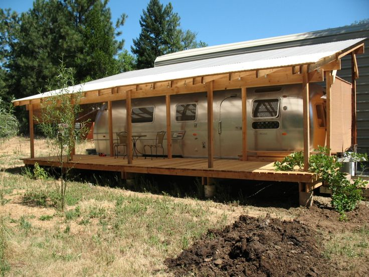 Travel Trailer Carports : Best diy build your own rv or boat portable carport