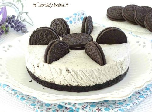 Cheesecake oreohttp://www.ilcuoreinpentola.it/ricette/cheesecake-oreo/
