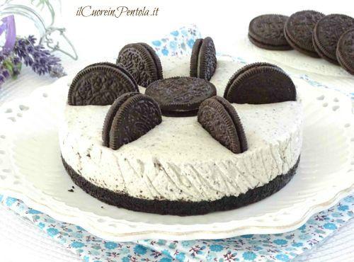 Cheesecake oreohttp://www.ilcuoreinpentola.it/ricette/cheesecake-oreo/