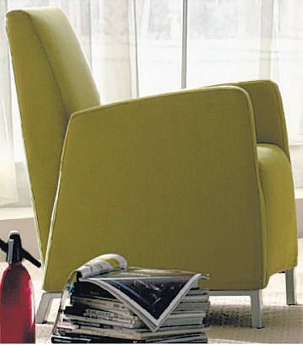 CONTEMPORARY High Deco Armchair This Small Armchair Would Fit Neatly In    The Independent