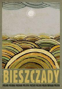 Ryszard Kaja - Bieszczady Mountains, Polish Promotion Poster