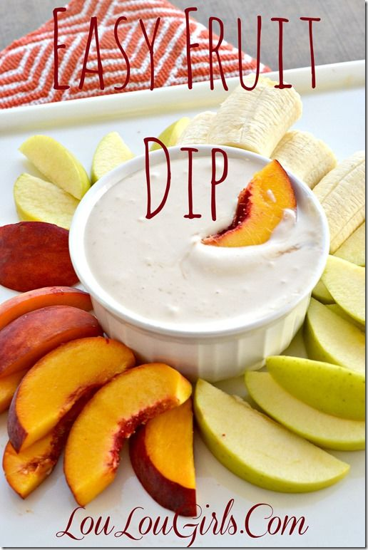 Delicious Easy Fruit Dip! You Won't Be Able To Stop Eating It!  1 cup of sour cream 1/2 cup of brown sugar 1 tsp vanilla