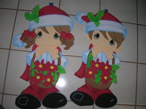 Adornos navideños 2013 en foami - Nocturnar