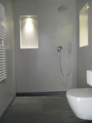 beton unique - beton cire: Betonbad